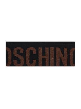 MOSCHINO MOSCHINO Textilná čelenka 65216 M2338 Čierna