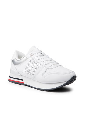 Tommy Hilfiger Tommy Hilfiger Sneakers Corporate Active City Sneaker FW0FW05800 Blanc