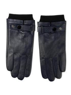 Wittchen Wittchen Pánské rukavice 39-6-704-GC Tmavomodrá