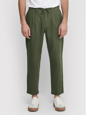 Only & Sons ONLY & SONS Stoffhose Leo 22013002 Grün Regular Fit