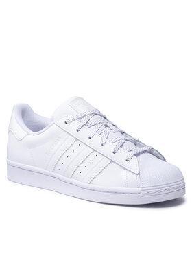 adidas adidas Chaussures Superstar H00201 Blanc