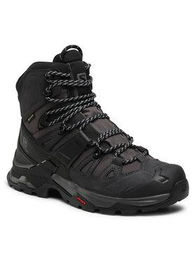 Salomon Salomon Παπούτσια πεζοπορίας Quest 4 Gtx GORE-TEX 412926 27 V0 Μαύρο