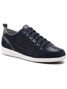 Geox Geox Sneakersy D Myria D D0268D 022BC C4002 Tmavomodrá