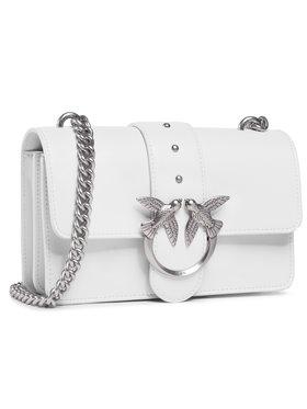 Pinko Pinko Handtasche Love Mini Icon Simply 7 Cl. PE 21 PLTT 1P227N Y6XU Weiß