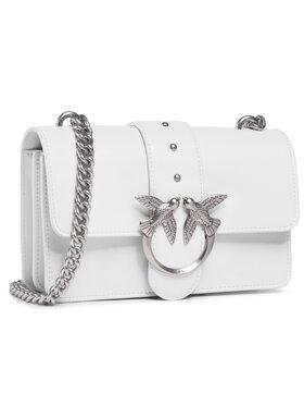 Pinko Pinko Τσάντα Love Mini Icon Simply 7 Cl. PE 21 PLTT 1P227N Y6XU Λευκό