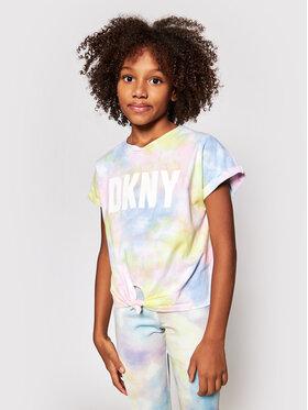 DKNY DKNY Bluză D35R34 S Colorat Regular Fit
