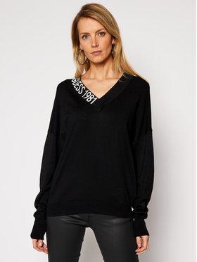 Guess Guess Пуловер Dalia W1RR04 Z2NQ0 Черен Regular Fit