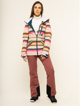 Billabong Billabong Spodnie snowboardowe Malla Q6PF07 BIF9 Różowy Tailored Fit