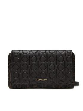 Calvin Klein Calvin Klein Сумка Mono Mix Flap Wallet Mini Bag K60K608457 Коричневий