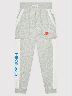 Nike Nike Долнище анцуг Air DA0710 Сив Standard Fit
