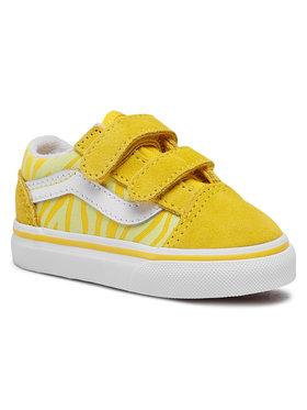 Vans Vans Tenisówki Old Skool V VN0A38JN33Z1 Żółty