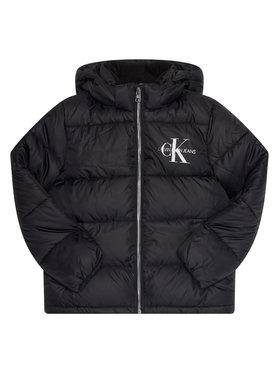 Calvin Klein Jeans Calvin Klein Jeans Zimní bunda Essential IG0IG00593 Černá Regular Fit