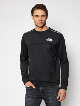 The North Face The North Face Bluza Crew NF0A5597JK31 Czarny Regular Fit