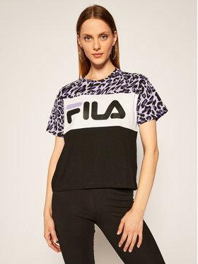 Fila Fila T-Shirt Allison Aop 687973 Kolorowy Regular Fit