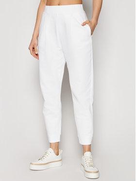 Max Mara Leisure Max Mara Leisure Spodnie dresowe Bric 37810816 Biały Regular Fit