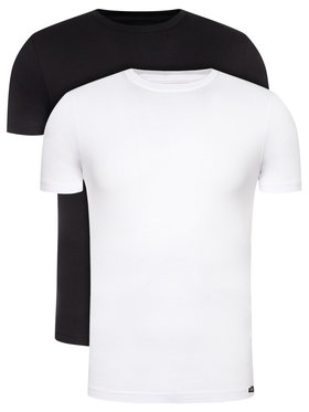 Lee Lee 2 marškinėlių komplektas Twin Pack Crew L680AIKW Spalvota Slim Fit