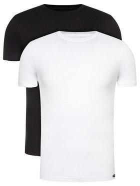 Lee Lee 2er-Set T-Shirts Twin Pack Crew L680AIKW Bunt Slim Fit