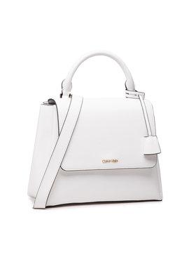 Calvin Klein Calvin Klein Kabelka Flap Top H Sm K60K608180 Biela