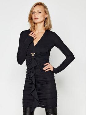 Pinko Pinko Sukienka koktajlowa Caldo 20202 PBK2 1B14R1 8253 Czarny Slim Fit