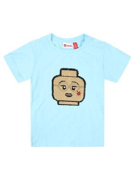 LEGO Wear LEGO Wear Marškinėliai 308 22337 Mėlyna Regular Fit