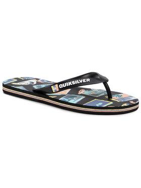Quiksilver Quiksilver Flip flop AQYL100985 Negru