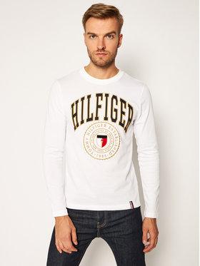 TOMMY HILFIGER TOMMY HILFIGER Marškinėliai ilgomis rankovėmis Varisty MW0MW14324 Balta Regular Fit