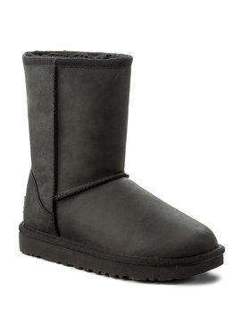 Ugg Ugg Boty Classic Short Leather 1016559 Černá