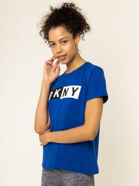 DKNY Sport DKNY Sport Marškinėliai DP9T5894 Mėlyna Regular Fit