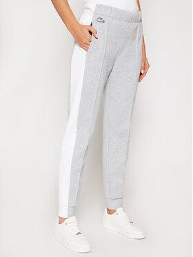 Lacoste Lacoste Spodnie dresowe XF2613 Szary Relaxed Fit