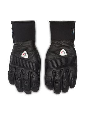 Rossignol Rossignol Lyžařské rukavice Retro Lth Impr RLJMG17 Černá