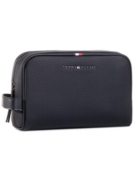 Tommy Hilfiger Tommy Hilfiger Несесер Essential Washbag AM0AM06525 Черен