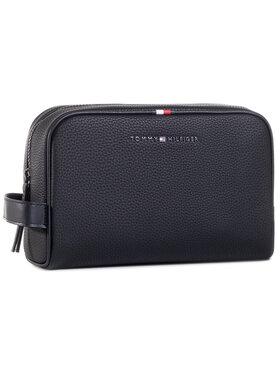 Tommy Hilfiger Tommy Hilfiger Pochette per cosmetici Essential Washbag AM0AM06525 Nero