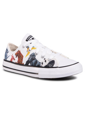 Converse Converse Sneakers aus Stoff Ctas Ox 668462C Weiß