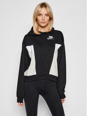 Nike Nike Суитшърт Sportswear Heritage CZ8604 Черен Oversized Fit