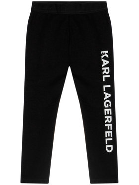 KARL LAGERFELD Legíny Z14129 S Čierna Slim Fit