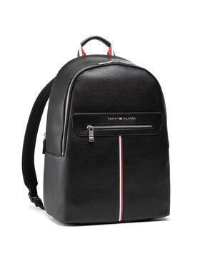 Tommy Hilfiger Tommy Hilfiger Batoh Th Downtown Backpack AM0AM07217 Černá
