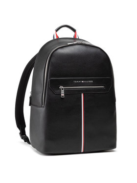 Tommy Hilfiger Tommy Hilfiger Plecak Th Downtown Backpack AM0AM07217 Czarny
