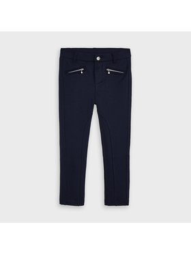 Mayoral Mayoral Spodnie materiałowe 4554 Granatowy Slim Fit