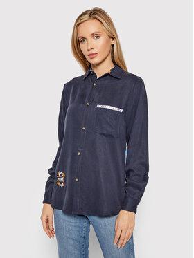 Femi Stories Femi Stories Camicia Sibu Blu scuro Oversize