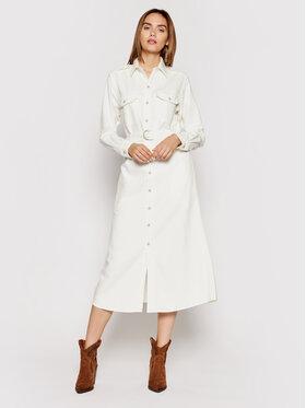 Polo Ralph Lauren Polo Ralph Lauren Sukienka koszulowa 211834041001 Beżowy Regular Fit