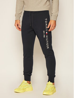Tommy Hilfiger Tommy Hilfiger Spodnie dresowe Basic Branded MW0MW08388 Granatowy Regular Fit