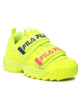 Fila Fila Sneakersy Disruptor Straps Wmn 1010859.60S Žltá
