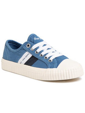 Pepe Jeans Pepe Jeans Sneakers Malibu Junior PBS30427 Σκούρο μπλε