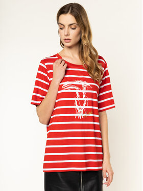 Trussardi Trussardi T-Shirt 56T00234 Rot Boy Fit