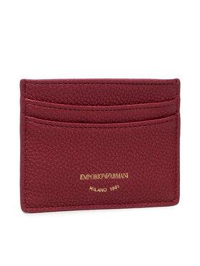 Emporio Armani Emporio Armani Kreditinių kortelių dėklas Y3H013 YFW9B 80401 Bordinė