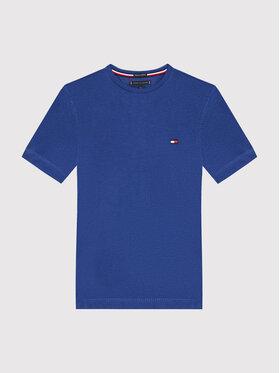 Tommy Hilfiger Tommy Hilfiger T-Shirt Essential Cttn KB0KB06130 D Granatowy Regular Fit