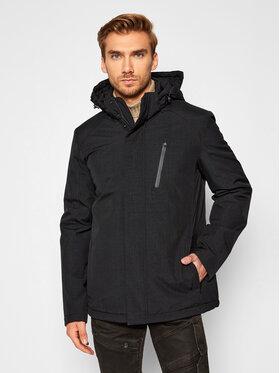 Geox Geox Zimska jakna Arral M0420S T2684 F9006 Crna Regular Fit