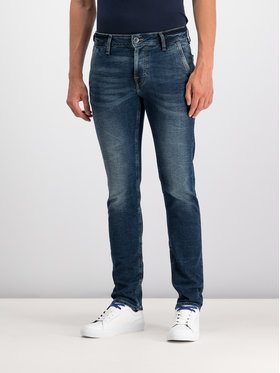 Guess Guess jeansy Skinny Fit Adam M93A81 D3PB0 Blu scuro Slim Fit