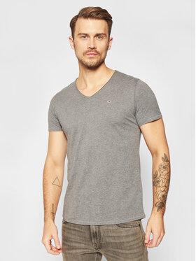 Tommy Jeans Tommy Jeans T-Shirt Tjm Vneck Jaspe M0DM08740 Szary Regular Fit
