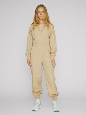 ROTATE ROTATE Overall Cliera RT494 Beige Slim Fit
